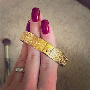 Gold Coach bangle